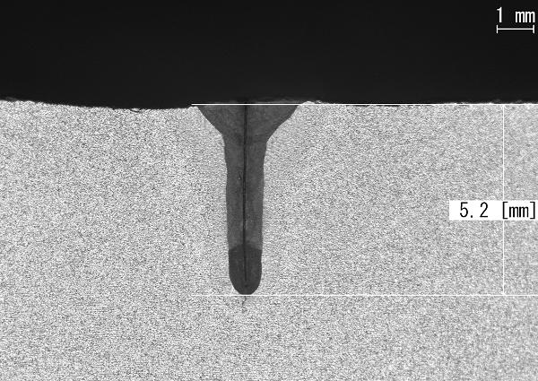 表面縦割れ挿入試験体例
